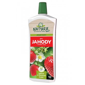 Kapalné hnojivo pro JAHODY A DROBNÉ OVOCE, Natura, balení 1 l-3291