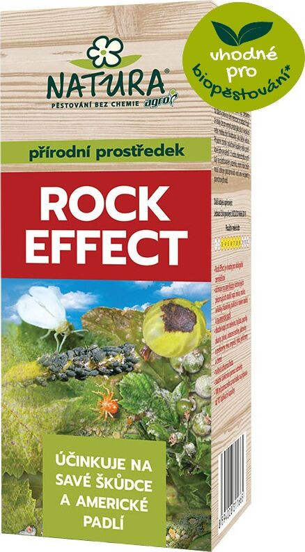 Kapalné hnojivo proti škůdcům, Natura ROCK EFFECT, balení 100 ml