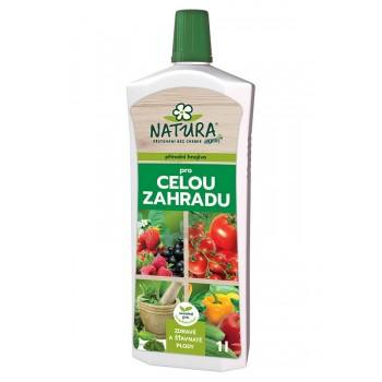 Kapalné zahradnické hnojivo Natura, balení 1 l