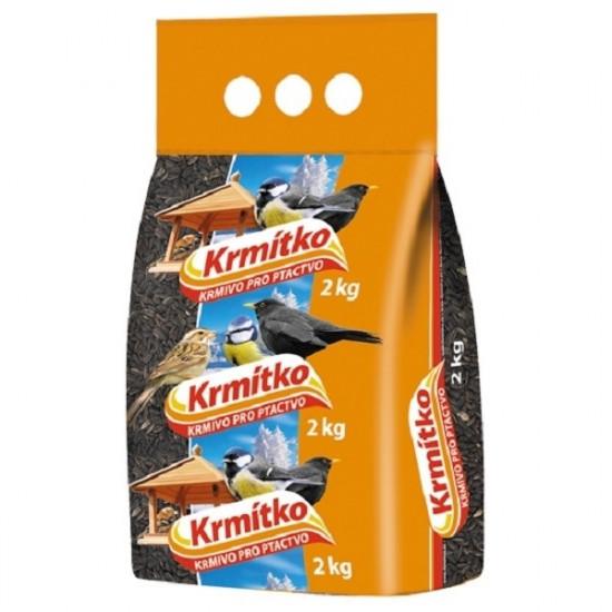 Krmivo pro ptáky, Forestina KRMÍTKO slunečnice černá, 2 kg