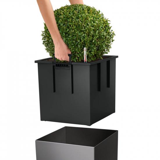 Květináč CUBE Premium komplet set-2852