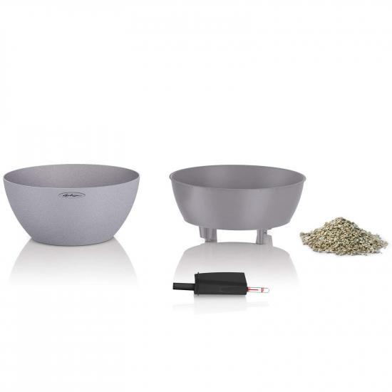 Květináč CUBETO Stone komplet set-2660