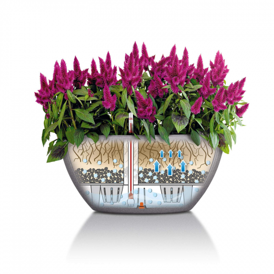 Květináč CUBETO Stone komplet set-2677