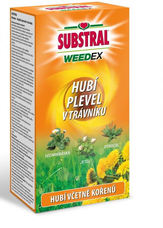 Likvidátor plevele, Substral WEEDEX, koncentrát, balení 250 ml