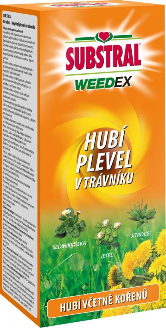 Likvidátor plevele, Substral WEEDEX, koncentrát, balení 500 ml