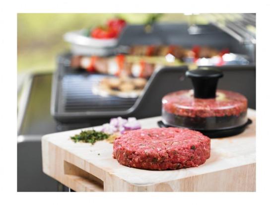 Lis na hamburgery, Weber, plastový, černý-1627