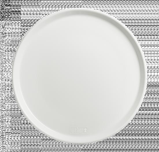 Mělký talíř Weber, průměr 27,5 cm, bílý, 2 ks