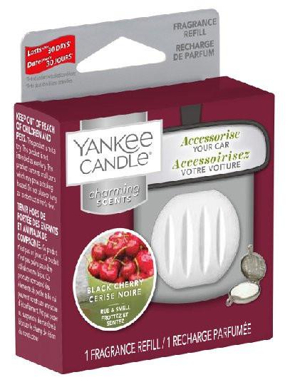 Náhradní náplň Charming Scents, Yankee Candle Black Cherry, provonění až 30 dní-532