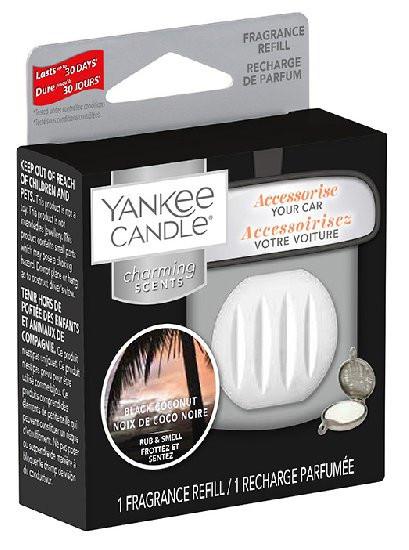 Náhradní náplň Charming Scents, Yankee Candle Black Coconut, provonění až 30 dní-1131