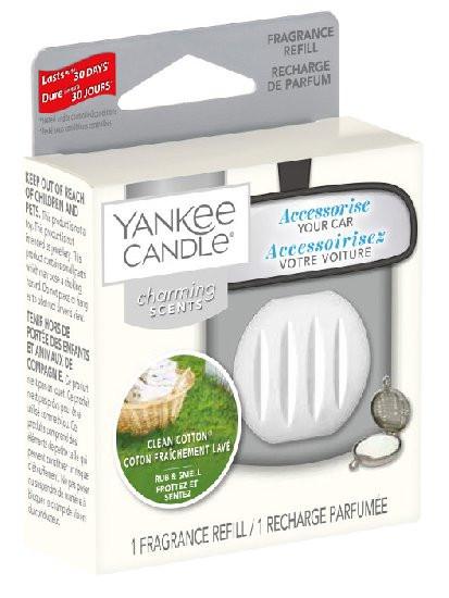 Náhradní náplň Charming Scents, Yankee Candle Clean Cotton, provonění až 30 dní