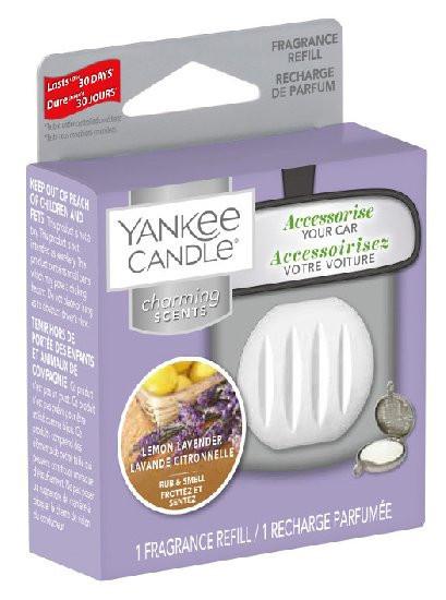 Náhradní náplň Charming Scents, Yankee Candle Lemon Lavender, provonění až 30 dní
