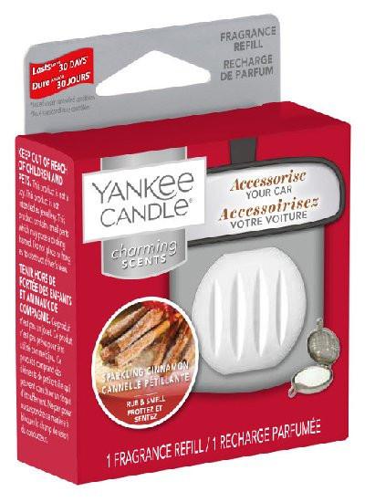 Náhradní náplň Charming Scents, Yankee Candle Sparkling Cinnamon, provonění až 30 dní-813
