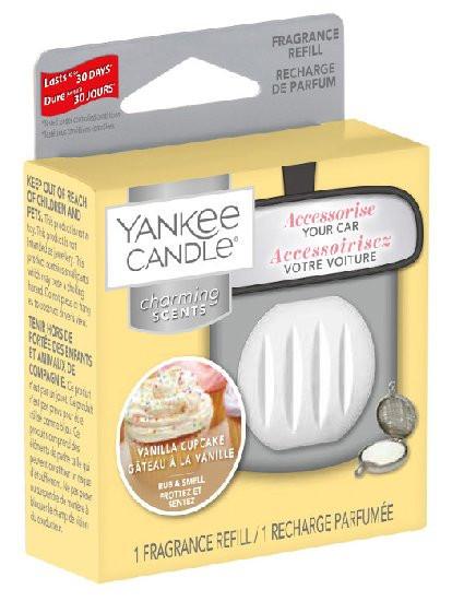 Náhradní náplň Charming Scents, Yankee Candle Vanilla Cupcake, provonění až 30 dní