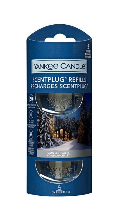 Náhradní náplň do el. zásuvky, 2ks, Yankee Candle Electric Candlelit Cabin