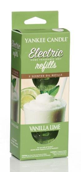 Náhradní náplň do el. zásuvky, 2ks, Yankee Candle Electric Vanilla Lime