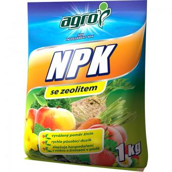 NPK se zeolitem, Agro, balení 1 kg