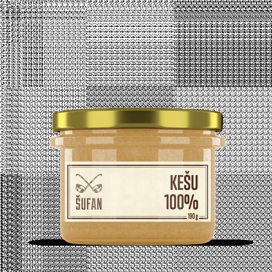 Ořechové máslo, Šufan Kešu 100%, 190 g-5261
