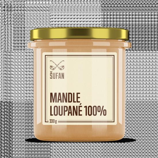 Ořechové máslo, Šufan Mandle loupané 100%, 330 g-5267