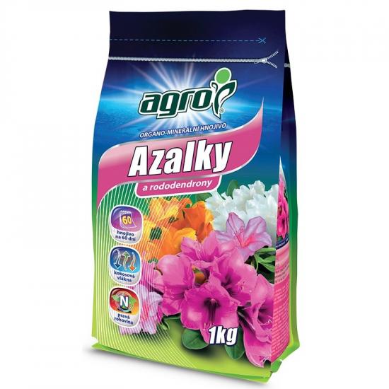 Organo - minerální hnojivo pro AZALKY a RODODENDRONY, Agro, balení 1 kg-3147