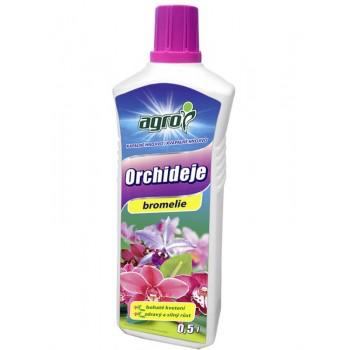 Organo - minerální kapalné hnojivo pro ORCHIDEJE a BROMÉLIE, Agro, balení 0.5 l