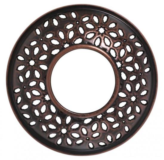 Ozdobný prstenec, Yankee Candle Sheridan Floral Bronze Metal-295