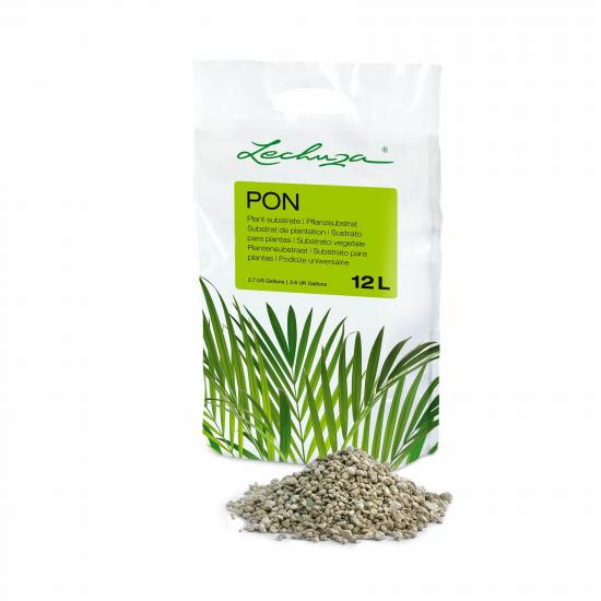 Pěstební substrát Lechuza PON 12 litrů-2652