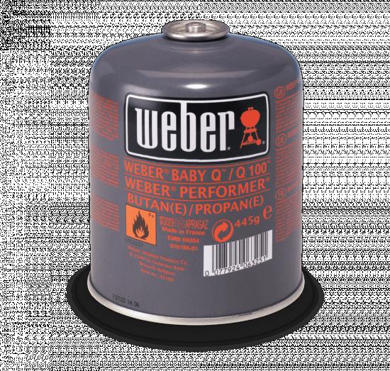 Plynová lahev pro grily Weber Q, objem 445 g-1618