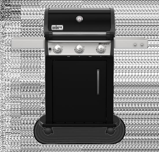 Plynový gril Weber SPIRIT E - 315 GBS, 3 hořáky, černý