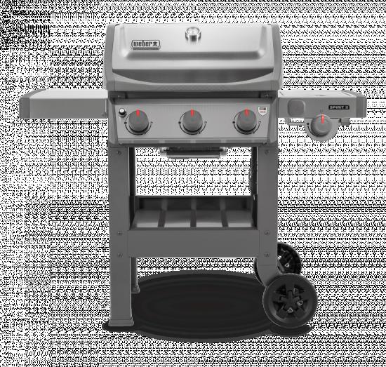 Plynový gril Weber SPIRIT II S - 320 GBS, 3 hořáky, nerezový-6919