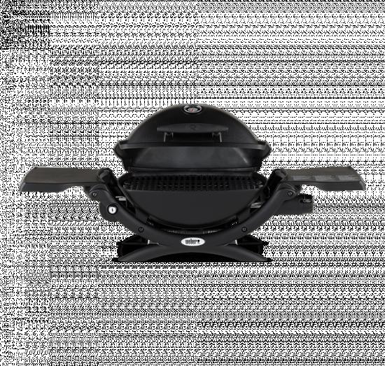 Přenosný plynový gril Weber Q 1200, černý