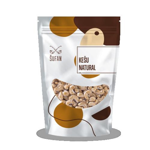 Přírodní ořechy, Šufan Kešu Natural, sáček, 200 g-5193