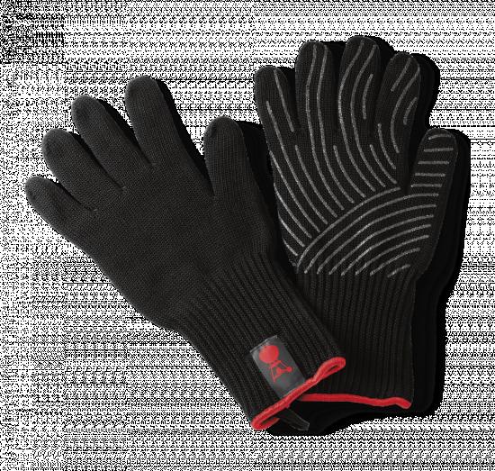 Prstové rukavice na grilování Weber, velikost S/M, černé-6908