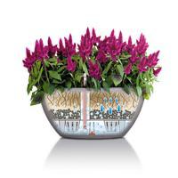 Samozavlažovací květináč Lechuza CUBETO Stone 30, komplet set, pískový-2666