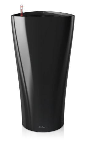 Samozavlažovací květináč Lechuza DELTA 30, komplet set, černý