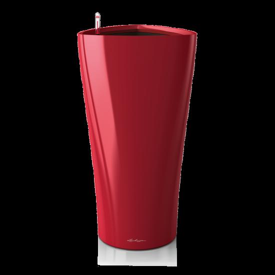 Samozavlažovací květináč Lechuza DELTA 30, komplet set, červený