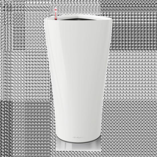 Samozavlažovací květináč Lechuza DELTA 40, komplet set, bílý
