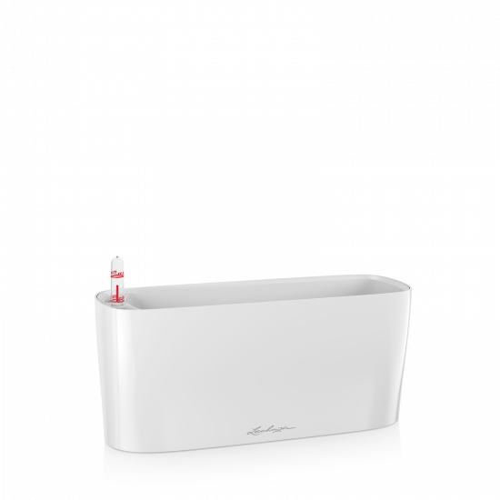 Samozavlažovací truhlík Lechuza DELTA 10, komplet set, bílý