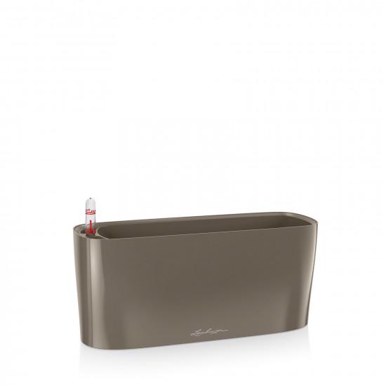 Samozavlažovací truhlík Lechuza DELTA 10, komplet set, taupe