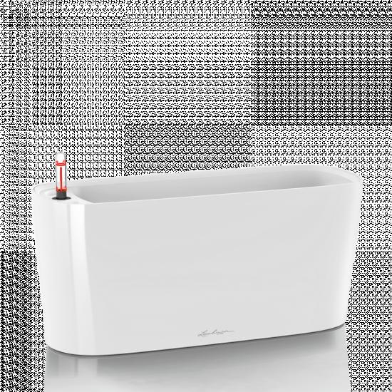 Samozavlažovací truhlík Lechuza DELTA 20, komplet set, bílý-2917