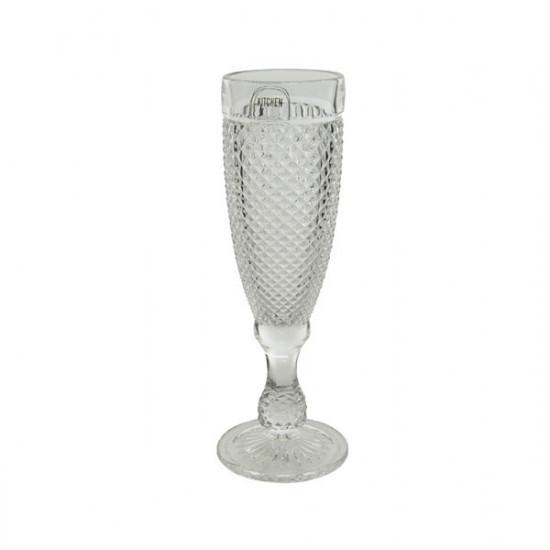Sklenice na šampaňské, KITCHEN GOODS, objem 165 ml, čirá
