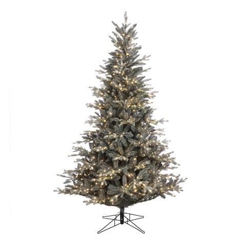 Strom umělý svíticí 1100LED LEARA zasněžený-4129