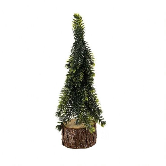 Stromek umělý smrk úzký na podstavci-4108