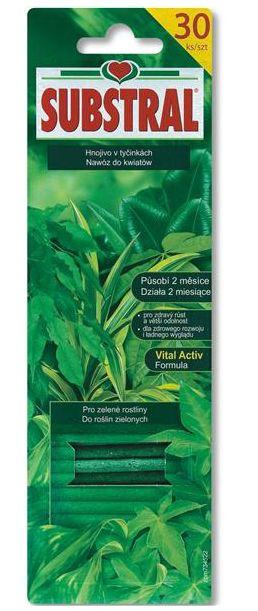 Substral hnojivo tyčinky zelené 30ks-3364