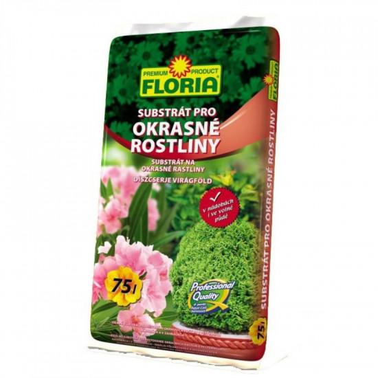 Substrát Floria pro okrasné rostliny, balení 75 l