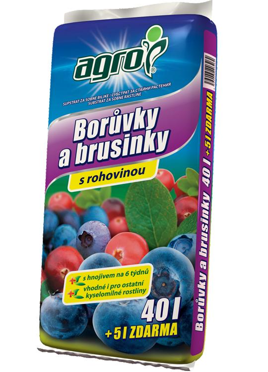 Substrát pro borůvky a brusinky 40l+5l-1784