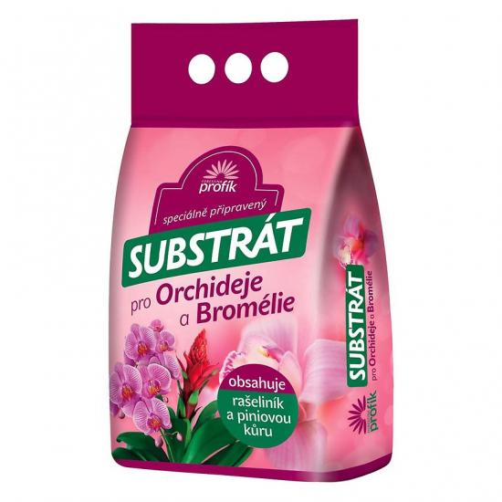 Substrát pro orchideje a bromélie, Forestina PROFÍK, balení 5l-1801