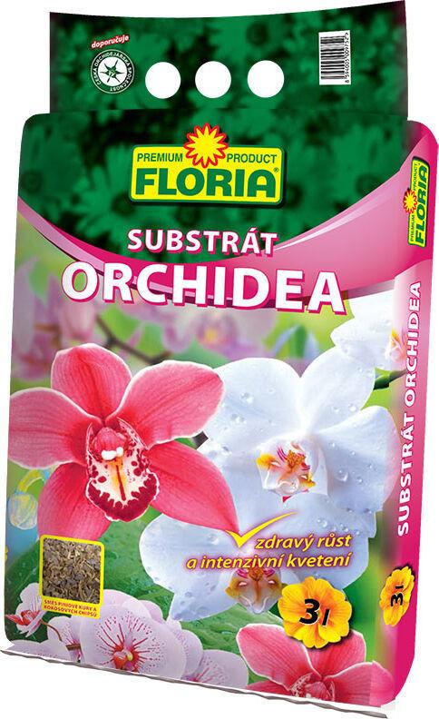 Substrát pro orchideje, Floria ORCHIDEA, balení 3 l-7077