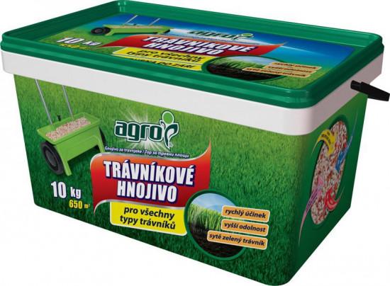 Trávníkové hnojivo Agro, balení 10 kg