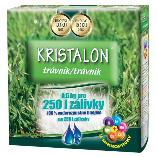 Trávníkové hnojivo Agro Kristalon, balení 0.5 kg-3141
