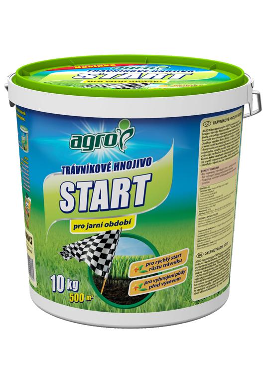 Trávníkové hnojivo Agro Start, balení 10 kg-7144
